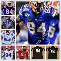 NCAA Florida Gators 84 Kyle Pitts Nouveau Jerseys Black Football femmes Femmes Hommes Jeunes Jerseys Bleu Orange Blanc Haute Qualité