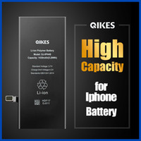 Yüksek kapasiteli pil iphone 6 6g 6 s 7 8 artı x xs max 11 pro max Batarya değiştirme gerçek kapasiteli cep telefonu Bateria iPhone sopası için