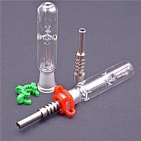 wholesale Nectar Collector Kit water pipes with 14mm 18mm ti...