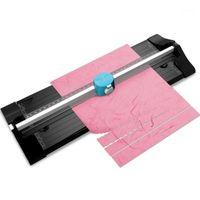 3 في 1 muiltafunctional سكرابوكينغ ورقة المتقلب القرطاسية متعددة أداة بطاقة المقصلة مكتب آلة A4 القاطع قطع الصور 1