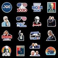 2021 ABD Cumhurbaşkanlığı Seçimi Joe Biden Harries Bagaj Bagaj Buzdolabı Için Baskılı Çıkartmalar 100 adet / grup İşlevli Sticker E111801