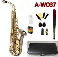 Совершенно новый Yanagisawa A-WO37 Alto Saxophone никелированный золотой ключ профессиональный сакс с мундштуком и аксессуарами