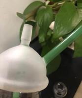 Dabuccino 컵 장비 유리 버블 샌드 블라스트 컵 DAB 농축일 오일 장비 유리 봉 14.5mm 9mm 18.8mm