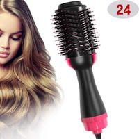 Bir adım saç kurutma makinesi hacimli salon sıcak hava kürek styling fırça negatif iyon jeneratör saç düzleştirici bigudi Q1204