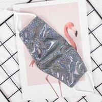MU53 colorido para o frete Flamingo Mulheres ao ar livre Máscaras Glitter DHL protetora Bling à prova de poeira da máscara respirável PM2. Xqeut.