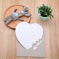 Jigsaw Puzzle Printing Carta Carte Sublimation Blank Blank Materiale Bilancio Carta Liscia Regalo di trasferimento a caldo per Ragazzi Ragazze Baby 2 3xm C2