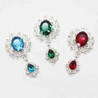 Broche brillante délicate 10pcs Crystal Bijoux Accessoires haut de gamme Superbe Invitation de mariage Vacances Creative Couture décoration