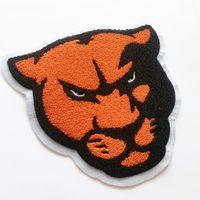Ferro em remendos chenille patches personalizado logotipo de alta qualidade patch bordado com suporte não tecido para vestuário emblemas patches bordados