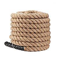 Jump cordas pesadas cordas ponderadas batalha pulando treinamento de energia melhorar a força fitness casa de ginásio de casa 9/12 / 15m1