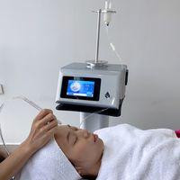 얼굴 아쿠아 워터 산소 제트 껍질 기계 휴대용 가정 사용 물 스프레이 제트 껍질 무선 압축기 습액 산소