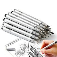 Superior Wasserdichte Nadelstift Cartoon Design Skizze Marker Pigma Micron Liner Pinsel Haken Linie Stift zum Zeichnen Kunst Lieferungen 201102