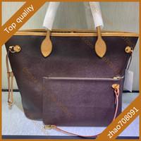 5A kostenlose paket mail frau einkaufen taschen nevrelig mm echtes leder handtasche mode leinwand umhängetasche zusammengesetzte taschen tasche mit boxB006