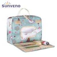 Sunenno novo original d'água d'água saco moda hangbag múmia reutilizável saco molhado para cuidados de bebê maternidade saco de frica y200107