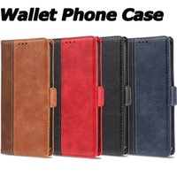 PU-Leder Brieftasche Telefon Fall für iPhone 12 Mini 12 11 Pro Max iPhone XR xs max. 6 7 8 PLUS SAMSUNG NOTE20 S20 S10 PocketBook Handys