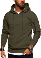 Hoodies Pullover Spring Autumn Pocket Sweatshirt Homme Wide ...