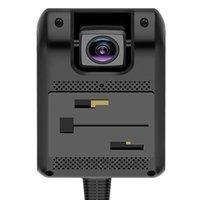 Cámaras Jimi JC400D Cámara dual 1080P Alarmas DVR del automóvil con Smart Dashcam SOS Alarma 4G GPS WiFi Spot para