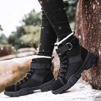 Открытый лодыжки пешие ботинки женские кроссовки Sonw Boots зимний мех теплые лазания по треккингом обувь охота тактическая женщина1