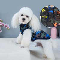 PET camuflaje perro abrigo a prueba de viento chaqueta de algodón de invierno chaqueta de pecho arnés chaleco para pequeños perros medios jk2012ph