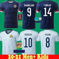 2020 اسكتلندا الرجال + أطفال كرة القدم جيرسي 2021 كرة القدم الصغيرة 21 22 كاميسيتا فوتبول روبرتسون فريزر نيزيث ميجريجور مايلوتس دي القدم