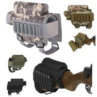 Pack Extérieur Pack Magazine Mag Pouch Cartouches Porte-Munitions Carrier AMMO Shell Recharge Tactical ButtStock Trakettock Repos Riser No17-015