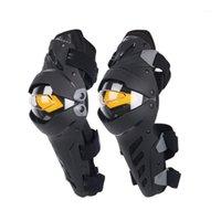 Motocicleta armadura joelho almofada de combinação para homens protetora guarda esporte motocross engrenagem1