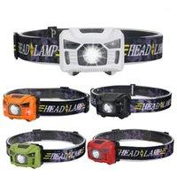 5W XPE Mini LED-Kopflampe Fackel USB-Ladegerät Scheinwerferlaterne mit LED-Körperbewegungssensor für Camping-Jagd1