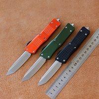 Hifin - der Stonewash D2 Hunter Knife T6-6061 Maniglia in alluminio Camping Survival Survival Outdoor EDC Hunt Tactical Tool Center Coltello da cucina