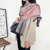 새로운 상위 여자 스카프 캐시미어 긴 스카프 클래식 플로랄 인쇄 디자이너 여자 스카프 크기 180x65cm