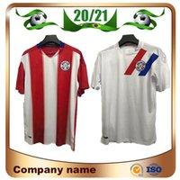 2021 Mailleots de Football Paraguay National Team Team Soccer Jerseys 20/21 Home Romero Ayala Lezcano González Sanabria Football Commir