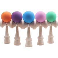 Профессиональная резиновая краска Кендама матовый мяч ребенок Кендама японские традиционные игрушки деревянный шар 18,5 см умелая игрушка для детей Y200428