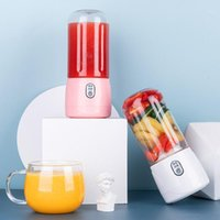 Exprimidores Mini Juicer portátil Pequeña Pequeña Copa de Fruta Multipropósito Inicio Al aire libre USB Recargable Blender Blender Procesador 1