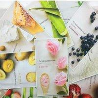 DHL Free Sale Chat Squeeze Masque 15PCS Masque Visage Blanchiment Hydratant Masque facial Hydratant 15 Styles aléatoires