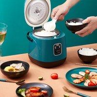 220 فولت متعددة الوظائف طنجرة الأرز الكهربائية التدفئة عموم الكهربائية الطبخ وعاء آلة hotpot المعكرونة الأرز البيض حساء باخرة مزدوجة