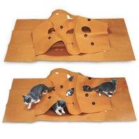 Kedi Çeviklik Eğitim Mat Kedi Oyuncak Bite Pad Yeni Yaratıcı Pet Mat Köpek Yastık Keçe Kumaş Pet Oyun