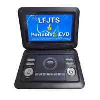 مشغل DVD المحمول مع 270 درجة تنتج TFT LCD 10PCS / CTN