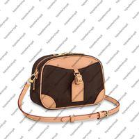 M45528 العجل جلد النساء البسيطة حقيبة قماش مساء حقيبة سيدة محفظة قابل للتعديل حزام رائعتين كاميرا الكتفينج