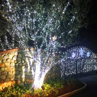 真新しい白い100 LED太陽の文字列妖精のライトクリスマスパーティーの防水休日の照明文字列高品質の素材