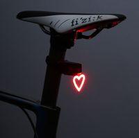 Fahrradlicht Wasserdichte Radfahren 5 Modelle Helm Rücklicht Laterne Für Fahrrad LED USB Wiederaufladbare Sicherheit Nacht Reiten Rücklicht