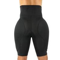 Corpore bunda lifter shapewear para homens coxa trimmer emagrecimento calcinha de cintura alta treinador plus size bodysuit desperdício mas elevador quadril pads