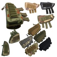 Magazine Camouflage Magazine Mag Pouch Cartouches Titulaire Porte-munitions Carrier AMMO Shell Recharge Tactical ButtStock Trakettock Repos Riser P17-012