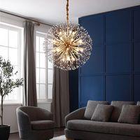 2021 EMS Navio LEVO Moderno LED Candelabro de Cristal Dandelier Iluminação para Decoração de Casa AC110V-220V Winfordo Lighting