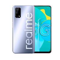 "Original Realme Q2 5G Mobiltelefon 6 GB RAM 128 GB ROM MTK 800U Octa Core Android 6.5 ""Vollbild 48MP Gesicht ID Fingerprint Smart Handy"