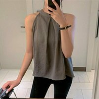 Summer 2021 New Fashion Causal T Shirt Womrn Solid Color Sle...