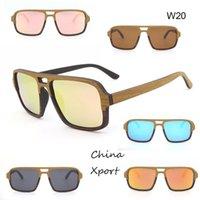 cooles rahmen doppelbrückenschicht holz polarisierte vintage sonnenbrille hoch nach unten geringe rahmen sonnenbrille nice 2021 dünne rahmenglasse