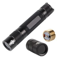 Taschenlampen Fackeln schwarz Filterlinse 365nm UV lila Licht 18650 LED-Lampe Base Jade Schmuck Identifikation Fluoreszenz-Erkennung1