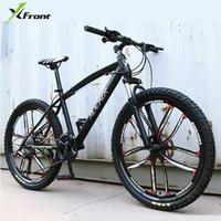 새로운 X-Front Brand 24/26 인치 탄소 강철 프레임 24/27 속도 야외 내리막 자전거 산악 자전거 디스크 브레이크 MTB Bicicleta1
