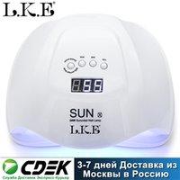 LKE 54W Sun X Trockner UV-Maschine für Gel Polnisch Automatische Hand Sensor LED Nail art Tools Lampe 201216