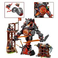 Fit Ninja 70626 Рассвет железа Doom Mech Set Mini цифры LLOYD MASTER WU JAY DIY Строительные блоки игрушки для детей мальчики подарки LJ200928