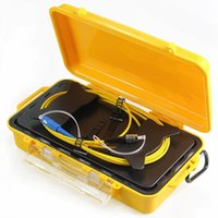OTDR Lancez la boîte de câble Extension de fibre optique OTDR Zone morte Eliminator 1km SM FC / UPC-SC / UPC