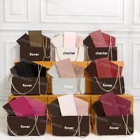 الفلشية الفلشية المرأة مع صندوق حقيبة يد نسائية مذهلة المحافظ نمط مخلب متعدد الوظائف مخلب مع صندوق